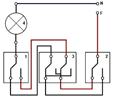 Πώς μπορείτε να συνδέσετε ένα διπλό διακόπτη φωτισμού